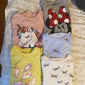 Girl Size 7/8 Shirt Bundle! All for the Low Price!